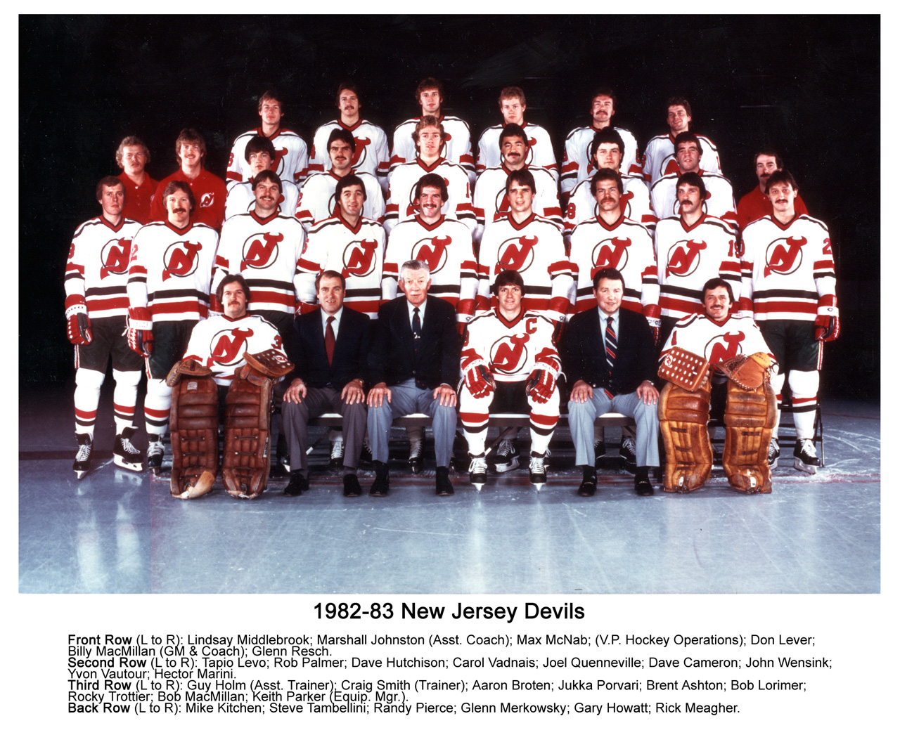 brand new b3ce2 e8611 Flashback – 1982–83 New Jersey Devils season ...